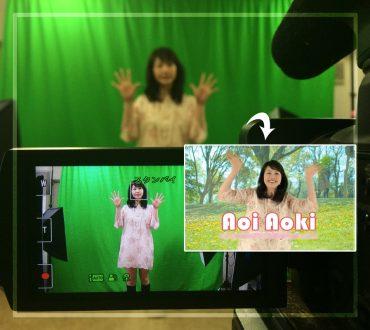 新宿レンタルクロマキー合成スタジオ
